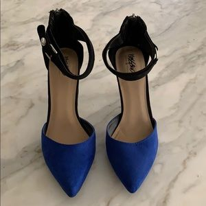 Mossimo Micro Suede Color Block Pumps